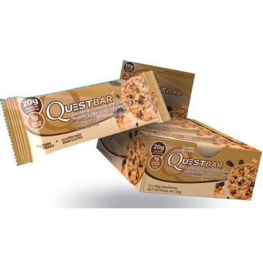 Quest Nutrition Oatmeal Chocolate Chip Protein Bars