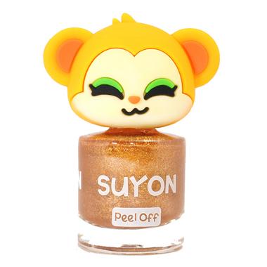 Suyon Nail Polish Funny Koko Pearl Gold