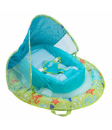 SwimWays Infant Baby Spring Float Print Green Octopus