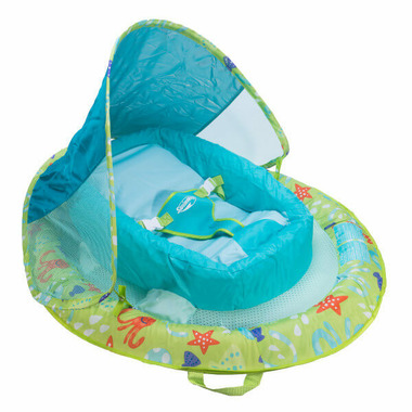 Buy Swimways Infant Baby Spring Float Print Green Octopus