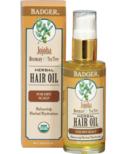 Badger Herbal Hair Oil for Dry Scalp