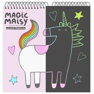 Magic Maisy Scratch Flip Book