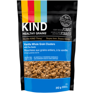 KIND Clusters Vanilla Whole Grain with Flax Seeds