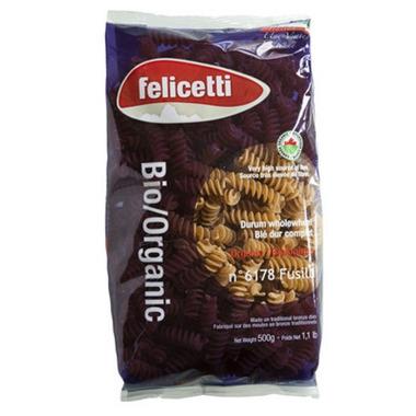 Felicetti Pasta Organic Whole Wheat Durum Complete Fusilli