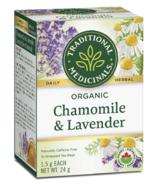 Traditional Medicinals Organic Chamomile and Lavender Tea