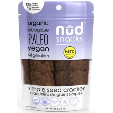 Nud Fud Simple Seed Crackers