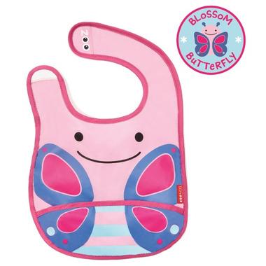 Skip Hop Zoo Bibs Tuck-Away Bib Butterfly