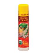 Badger Ginger & Lemon Lip Balm