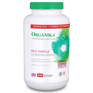 Organika Milk Thistle Bonus Size