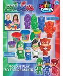 Cra-Z-Art PJ Masks 3D Mold N Play Softee Dough Figure Maker