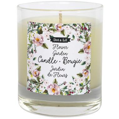 Dot & Lil Flower Garden Candle Honeysuckle