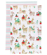 Now Designs Tea Towel Set Fa La La La Llama