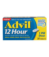 Advil 12 Hour Ibuprofen Extended Release Tablets 30 Pack