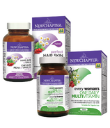 New Chapter Women's Daily + Biotin Bundle