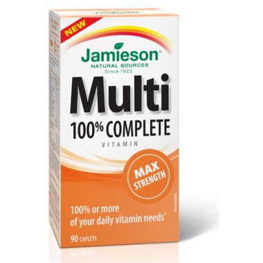 Jamieson Multi 100% Complete Vitamin Max Strength