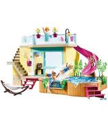 Playmobil PLAYMO Beach Hotel Bungalow with Pool