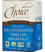 Choice Organic Teas Decaffeinated English Breakfast Tea