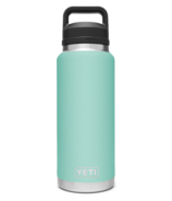 YETI Rambler Bottle + Chug Cap Seafoam