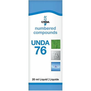 UNDA Numbered Compounds UNDA 76 Homeopathic Preparation