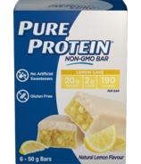 Pure Protein Lemon Cake Non-GMO Bars
