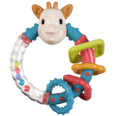 Sophie by Vulli Multi-Textured Rattle