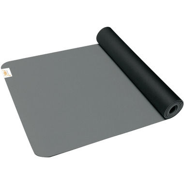Gaiam SOL Suddha Eco-Friendly Yoga Mat Black & Grey