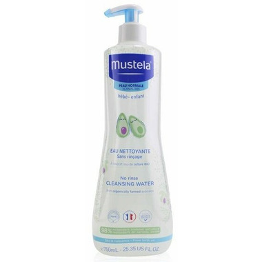 Mustela Face & Diaper Area No-Rinse Cleansing Water