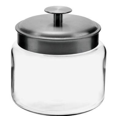 Anchor Mini Montana 48 oz. Glass Storage Jar