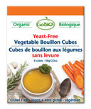 GoBIO! Organic Yeast-Free Vegetable Bouillon Cubes