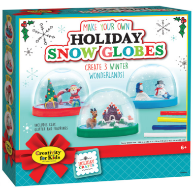 Creativity for Kids Make Your Own Holiday Snow Globes