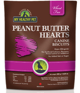 Holistic Blend My Healthy Pet Peanut Butter Hearts Canine Biscuits