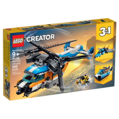 LEGO Creator Twin-Rotor Helicopter