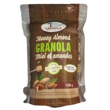 Living Alive Granola Honey Almond Granola