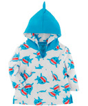 ZOOCCHINI UPF 50+ Baby Terry Swim Cover Up Shark