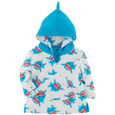 ZOOCCHINI Baby Terry Cover Up Shark