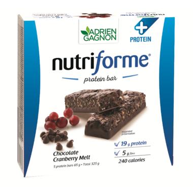 Adrien Gagnon Nutriforme Protein+ Bars