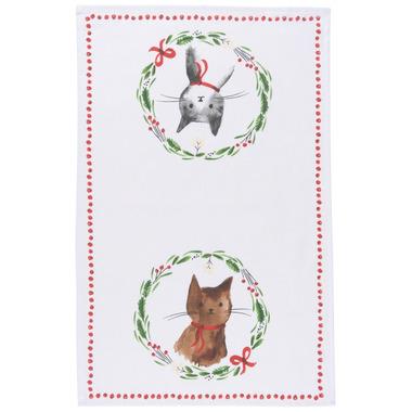 Now Designs Tea Towel Jingle Cat