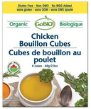 GoBIO! Organic Chicken Bouillon Cubes
