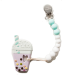 Loulou Lollipop Bubble Tea Teether With Holder