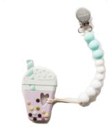 Loulou Lollipop sucette au thé moussant avec porte-savon
