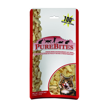 PureBites Freeze Dried Chicken Breast Cat Treats