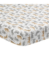 Lambs & Ivy Separates Tiger Print Sheet