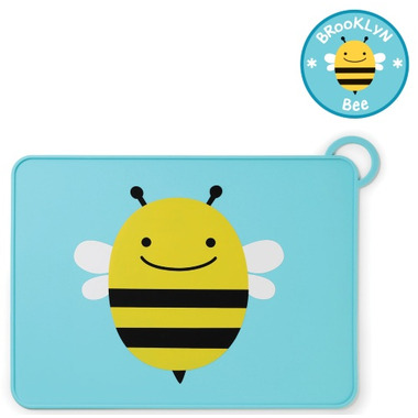 Skip Hop ZOO Fold & Go Placemat Bee