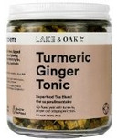 Lake & Oak Tea Co. Turmeric Ginger Tonic Superfood Tea Blend