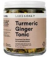 Lake & Oak Tea Co. Turmeric Ginger Tonic Superfood Tea Blend