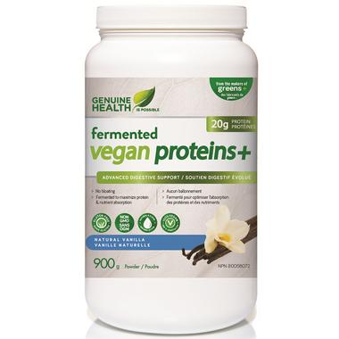 Genuine Health Fermented Vegan Proteins+ Natural Vanilla