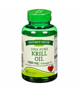 Nature's Truth Vitamins 100% Pure Krill Oil Omega-3 1000 mg