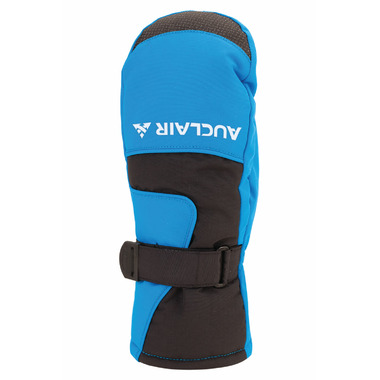 Auclair Pika Reflective Mitt Black & Bright Blue