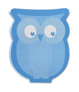 Post-it Owl Print Super Sticky Notes Assorted Colours