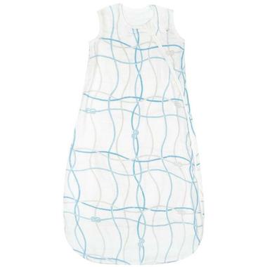 Perlimpinpin Bamboo Muslin Sleep Bag Knots Print